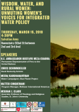 Wisdom, Water, and Rural Women CSW 62 Event